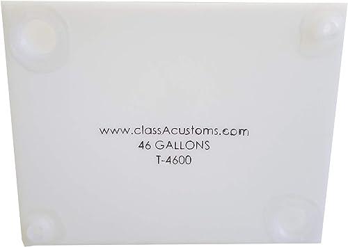 Class A Customs | T-4600 | One (1) RV Fresh Water 46 Gallon Tank, Grey Water