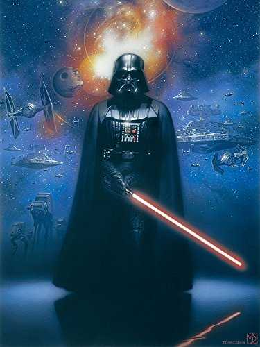 Wizard + Genius WG-1600V4-LC Fototapete Star Wars Darth Vader, Mehrfarbig
