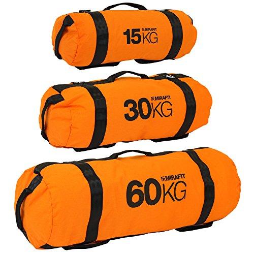 Mirafit Gym Weight Lifting Sandbags - Choice of Size