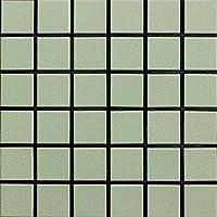 45角 モザイクタイル 床壁タイル プレイト 鶯色 P-13