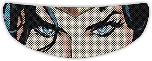 Woman Eyes Universal Full Face Motorcycle Helmet Windscreen