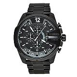 Diesel Mega Chief Analog Black Dial (Big Dial) Men's Watch - DZ4283