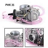 Topteng P-W-K35 de 35 mm Aire Striker carburador para Yama-ha Banshee YFZ350 Quad Vent ATV KDX200