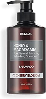 [KUNDAL] Honey & Macadamia Pure Natural Balancing Refreshing Shampoo/Hair Care/pH Balanced / 1 sold in Every 3 Seconds (Ch...