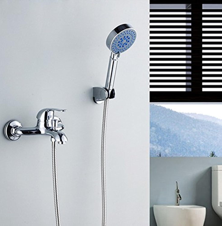 Luxurious shower Kostenloser Versand Messing verchromt Bad & Dusche, Armaturen im Bad Wasserfall Dusche Wasserhahn, Luxus wasserhahn bathroom.promotion,Weiß