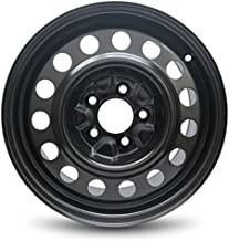 Road Ready Car Wheel For 2000-2005 Chevrolet Impala,Pontiac Bonneville,Chevrolet Monte Carlo 2003-2008 Pontiac Grand Prix 2005-2008 Buick Lacrosse 16 Inch 5 Lug Black Steel Rim Fits R16 Tire - Exact