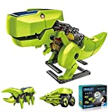 ASPPOPO STEM Projects for Kids Ages 8-12 Powerd by Solar 3 in 1 DIY Building Dinosaurs Toy Kids Science Kits Age 8 and up Gift for Boys Girls