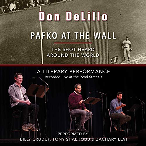 Pafko at the Wall Audiobook By Don DeLillo cover art