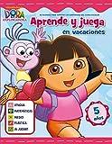 Aprende y juega en vacaciones (Dora la exploradora. Cuadernos de vacaciones 5 años)