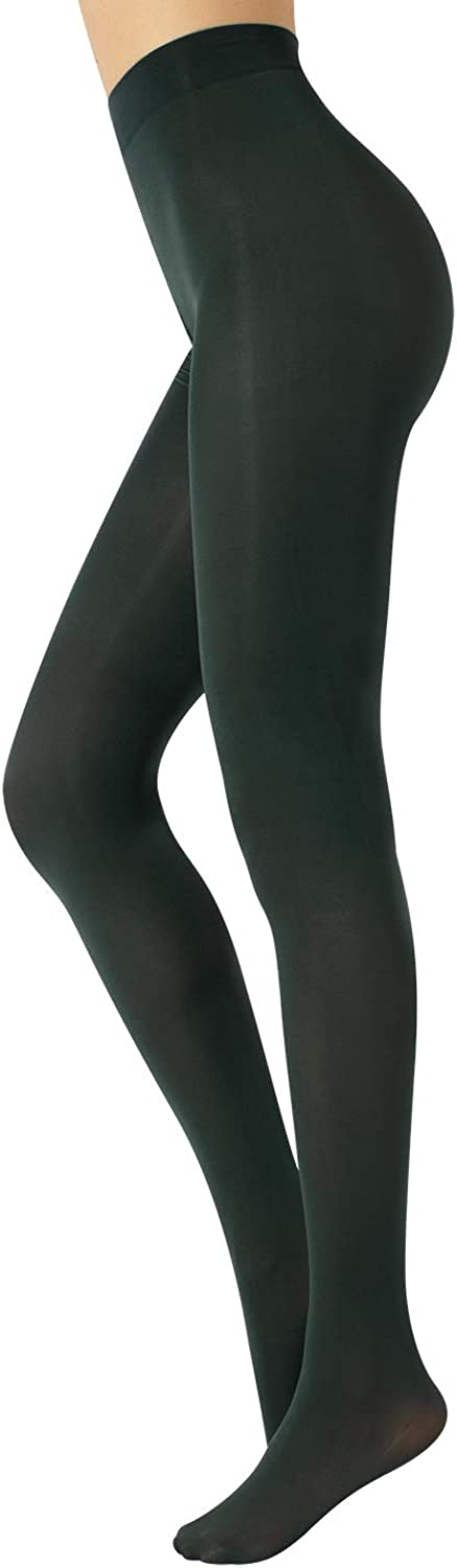 CALZITALY Opaque Colour Tights | Thick Tights | Microfiber 3D Pantyhose | 80 DEN | M, L, XL | Italian Hosiery |