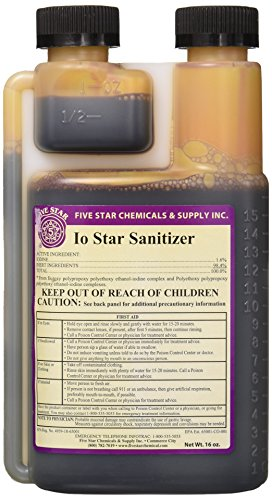 Five Star Iodophor Sanitizer – 16 oz.