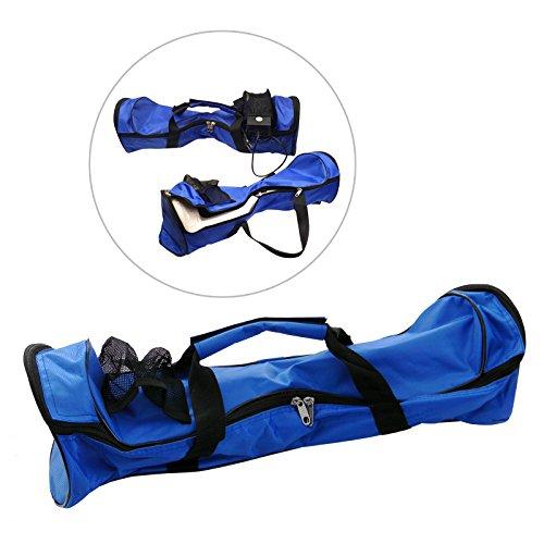 Eaxus® Draagtas voor waveboards/scooter/skateboards van nylon. Blauwe sporttas voor het vervoer en bescherming van uw apparaat. Afmetingen: 58,4X 18,6X 17,8 cm
