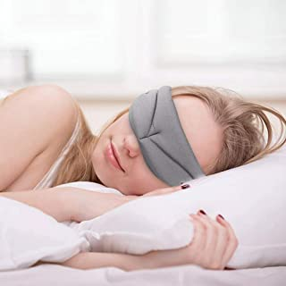 M'HANS Comfortable Cyclops 3D Sleep Mask for Women and Men Comfortable and Soft Eye Mask for Sleeping Best Travel Eye Cover (Gray)