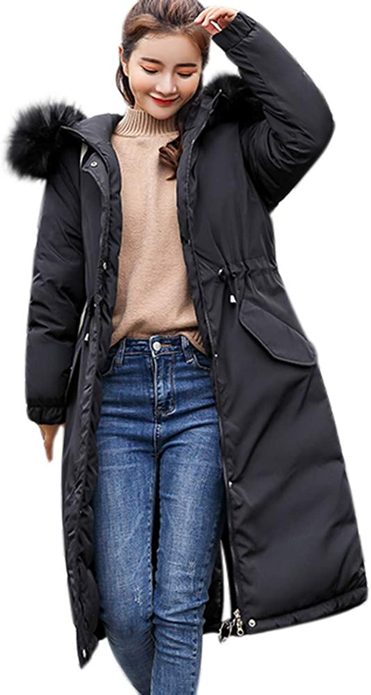 BETTERUU UFACE Women Solid Thicker Winter Slim Warm Lammy Jacket Hair Collar Coat Overcoat
