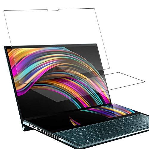 """Vaxson 4 Stück Schutzfolie, kompatibel mit ASUS ZenBook Pro Duo UX581LV 15.6"""", Displayschutzfolie Bildschirmschutz Blasenfreies [nicht Panzerglas]"""