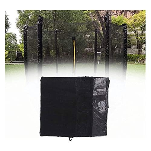aldi trampolines HONGER Trampoline Safety Net Enclosure, Replacement Trampoline Safety Net, 6/8/12 Straight Poles PE Breathable Replacement Trampoline Protection Net for Round Frame Trampolines