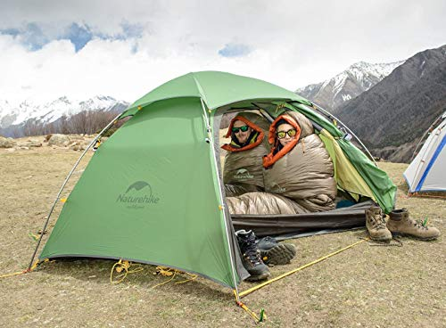 Naturehike Cloud Peak 4 Season Backpacking Tent for 2-3 Person Hiking Cmaping Outdoor