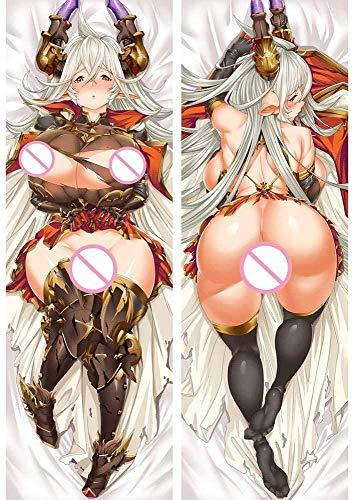 Anime Pillow Cover/Body Pillowcase Japan Anime Granblue Fantasy Hugging Body Pillow Case Cover 3D Sexy Girl Anime Pillow Cases Body Pillow Cover Pillowcases 20' x 60'
