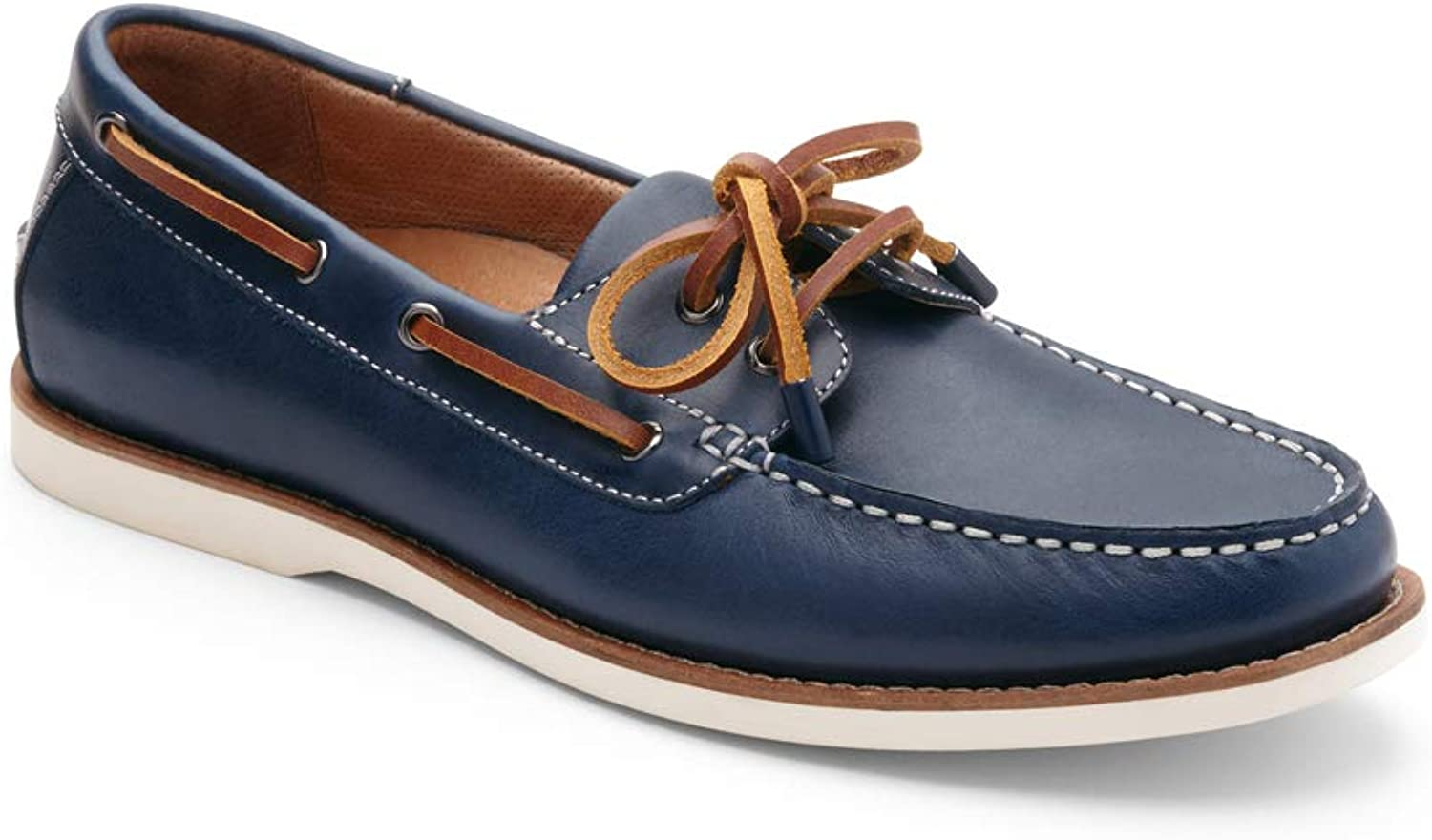 Vionic Men's Spring Lloyd Boat shoes - Slip-on with Concealed Orthotic Arch Support