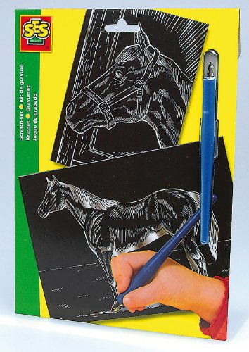 SES Creative 01041 - Gravurset Pferde