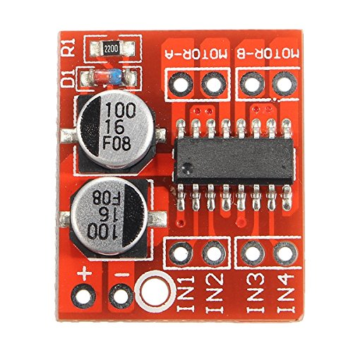 Bluelover 3 stuks Dual Channel L298N Dc Motor Driver Board Pwm snelheid Dual H Bridge Stepper Module