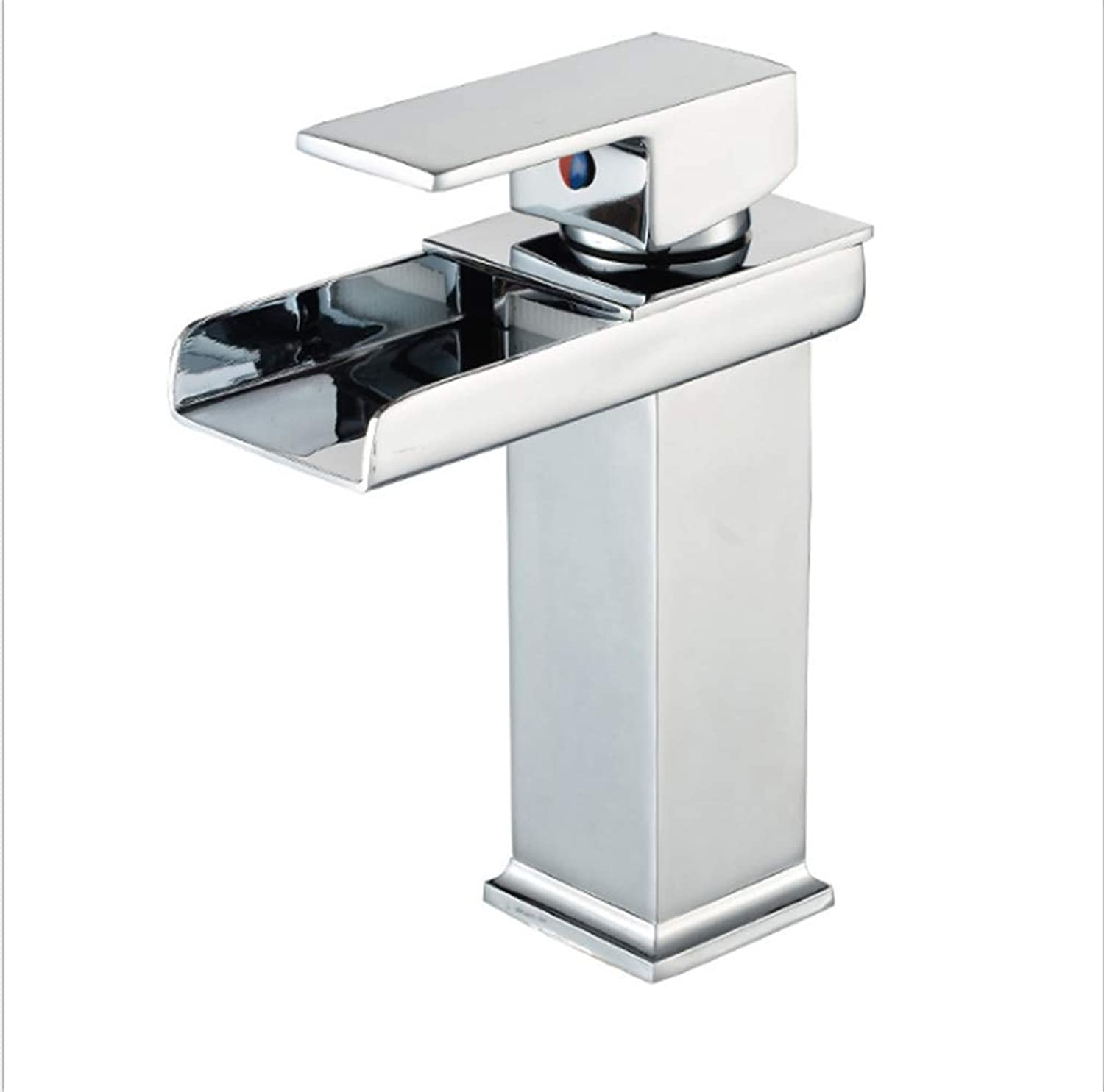 Kitchen Taps Faucet Modern Kitchen Sink Taps Stainless Steelcopper Basin Faucet Sifang Trough Waterfall Faucet Bathroom Table Basin Faucet