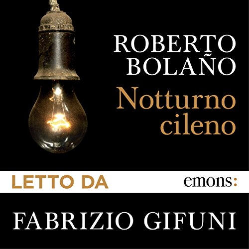 Notturno cileno audiobook cover art