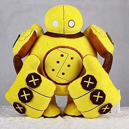 MZD Plush Toy 35Cm Robot Blitzcrank Plush Toys And Dolls Soft Pillow Kids/Couples/Elder Toys Dolls