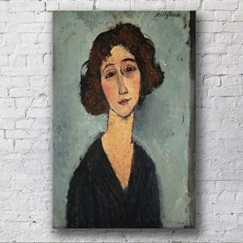 mmzki Abbildung Spray Leinwand Ölgemälde Hotel Apartment Leinwand Gemälde Dekorative Wandbilder für Wohnzimmer Poster und Drucke-70X100cm_no_Frame_1