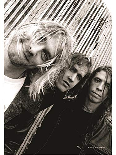 Nirvana - Band Shot Flagge