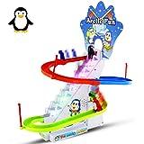 Haktoys Arctic Fun Playful Penguin Race Set,...