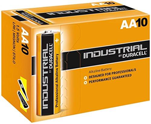 Duracell Industrial LR6 Batterie (Alkaline), AA/Mignon (10-er Pack)