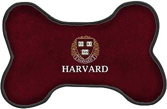 "All Star Dogs NCAA Harvard Crimson University Dog Bone Shaped Squeak Toy 8"", 8"" Small, Crimson"