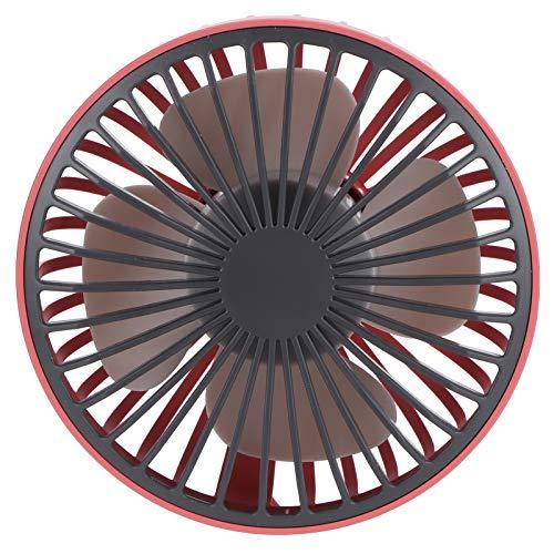 FOLOSAFENAR Ventilador portátil Larga Vida útil Ventilador eléctrico práctico Instalación Sencilla, para Exteriores, para Verano(Red)