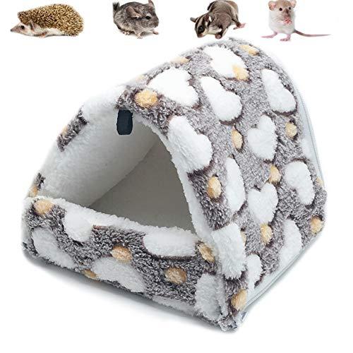 LeerKing Cama Colgante para pequeños Animales Hamaca de Animales Suave y cálida...