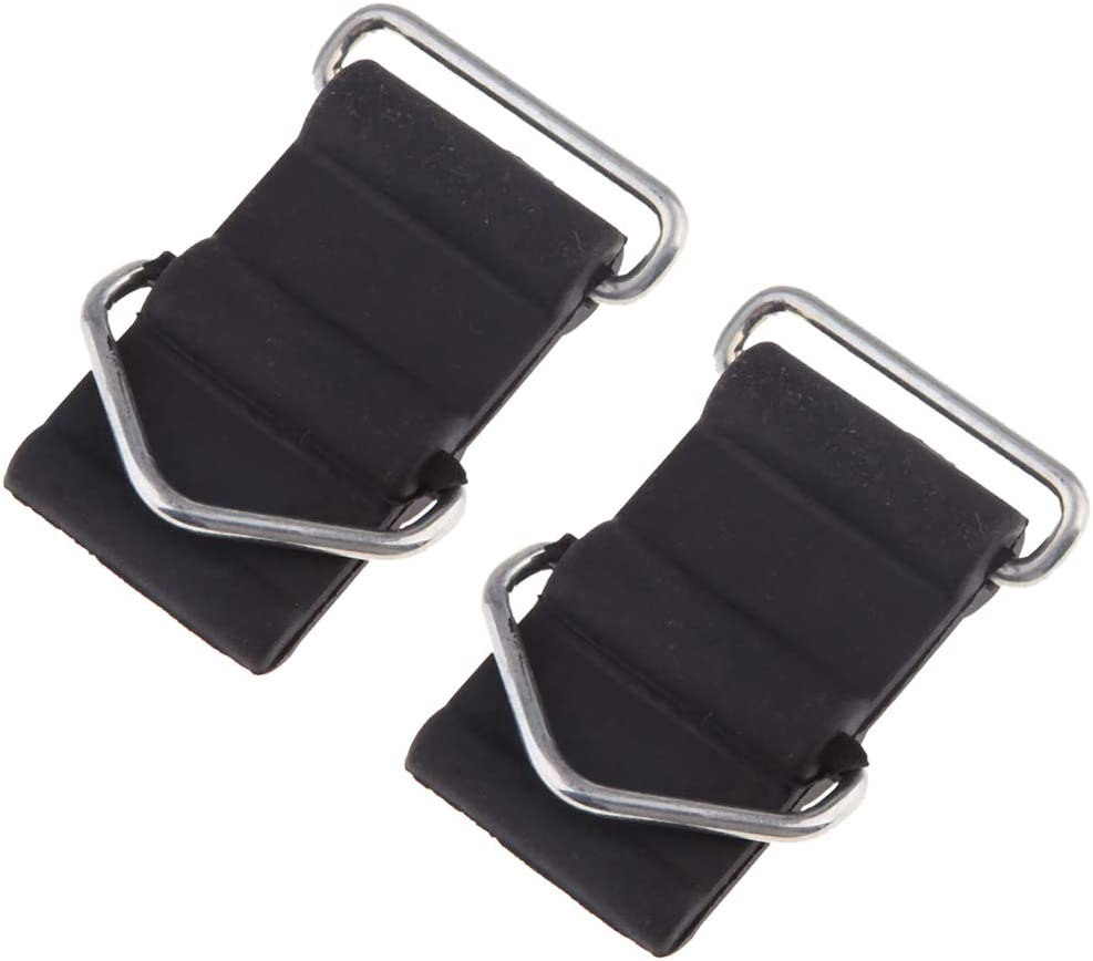 FLAMEER 2 Pieces Motorcycle Challenge the lowest price Rubber Gas for Fuel Mount Tank Deluxe Strap