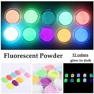 QIMEIYA 12 Colors Neon Colors Phosphorescent Luminescent