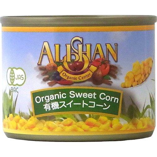 アリサン『有機スイートコーン缶』