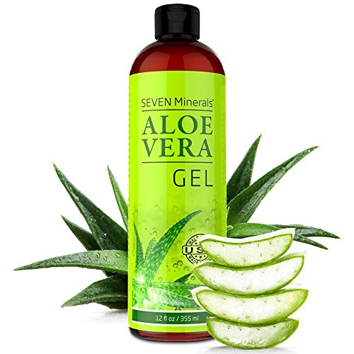 Our #2 Pick is the Seven Minerals Aloe Vera Gel