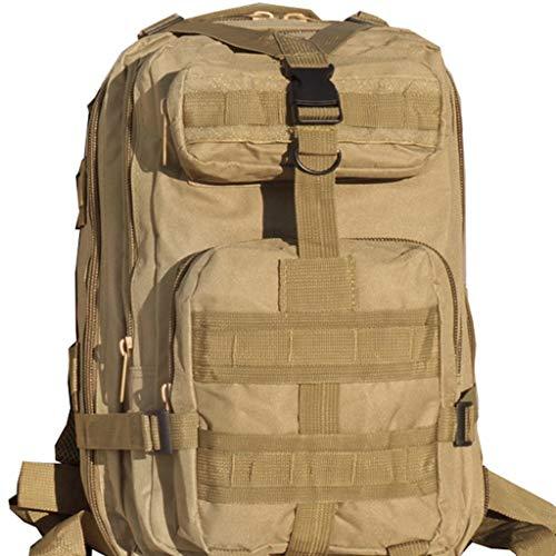 Grote reizen capaciteit rugzak Tactical Professional Outdoor gemakkelijk te dragen Sports Mountaineering tas met Oxford Waterdicht Camouflage 40 * 25 * 23cm waterdichte rugzak