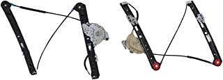Baosity Right/Left Side Front Power Window Regulator Factory OEM for BMW E46 1998 1999 2000 2001 2002 2003 2004 2005