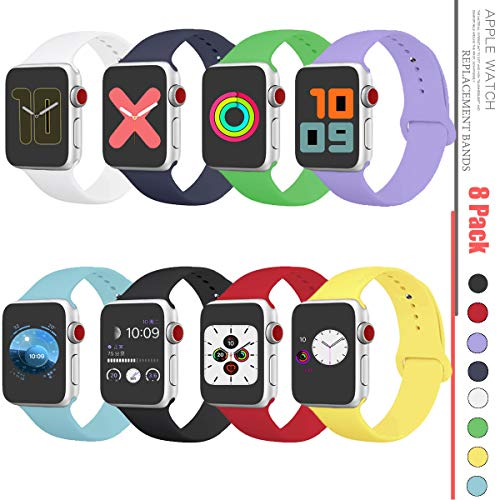 Compatible with Apple Watch Band 38mm,Apple Watch Band 40mm,Apple Watch Band 42mm,Apple Watch Band 44mm,Apple Watch Series 1/Series 2/Series 3/Series 4/Series 5 Band Wristbands