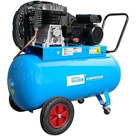 Güde Druckluft Kompressor 335 10 50 230v Inkl 11 Tlg Set 10bar Baumarkt