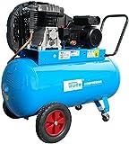 GÜDE 420/10/100 230V - Compressore bicilindrico, capacità 100 litri 10 bar...