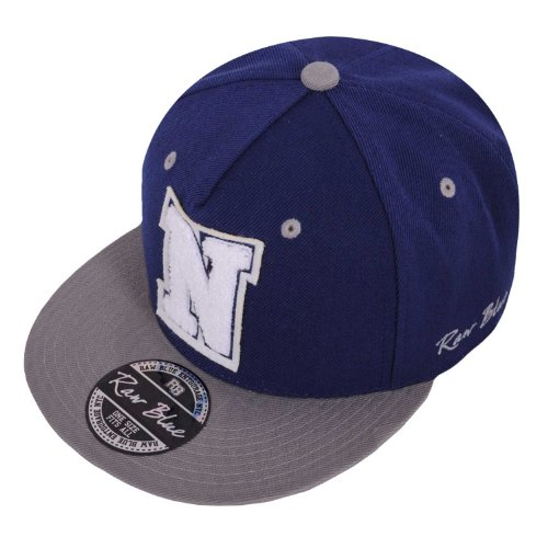Raw Blue Letterpatch-Snapback N Navy / Grey