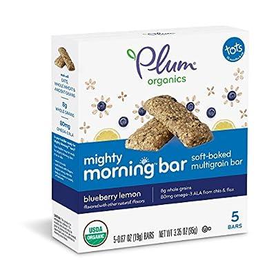 Plum Organics Mighty Morning, Organic Toddler Bar