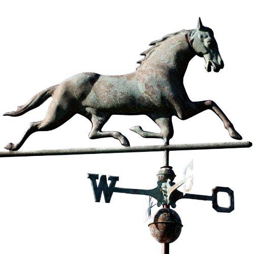 Wetterfahne Pferd antik