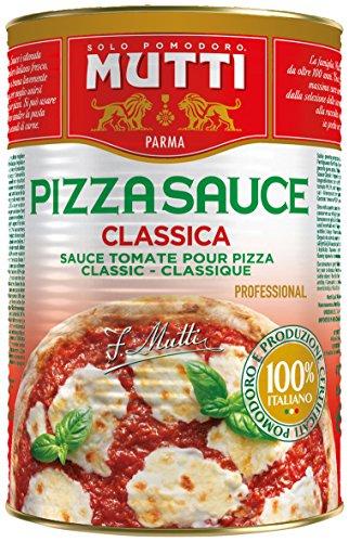 Mutti Pizza Sauce Classic Ungewürzt, 1er Pack (1 x 4.2 kg)