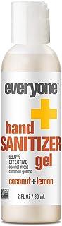 Everyone Hand Sanitizer Gel, Coconut and Lemon, 2oz, 6 Count