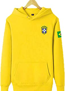 Chelsea Club with The Football Suit Autumn and Winter Long-Sleeved Sweater Sportswear Casual Wear Soccer Fans Gift Training Fitness Clothes Yellow